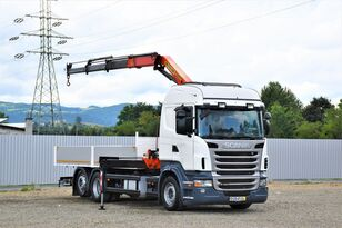SCANIA R400 Pritsche 6,20m + PK 13000B + FUNK ! camión caja abierta