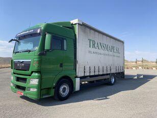 MAN TGX 18.440 camión con lona corredera