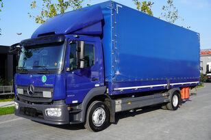 MERCEDES-BENZ Atego 1224L / Euro 6/18 europallets / 240 thousand. km! camión con lona corredera