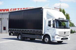 MERCEDES-BENZ Atego 1524 , E6 , 90.000km , GVW 15.000kg , Tarpulin 7,2m , tail camión con lona corredera