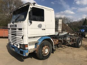 SCANIA R142-V8 142M V8 **FRENCH TRUCK-FULL STEEL** camión de contenedores