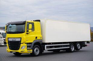 DAF CF / 460 / EURO 6 / 6 X 2 / CHŁODNIA + WINDA / 21 EUROPALET / DL camión frigorífico
