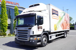 SCANIA P280 , E5 , 18 EPAL , Meat HOOKS , tail lift , retarder , sleep  camión frigorífico