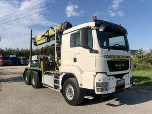 MAN TGS 540KM 6x4  camión maderero