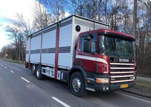 SCANIA 340 camión para transporte de ganado