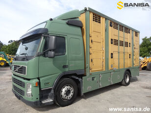 VOLVO FM420/Menke-Janzen Viehtransporter 3Stock camión para transporte de ganado