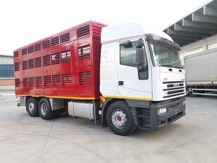 IVECO 240E48 CURSOR ANIMALI VIVI  camión para transporte de ganado