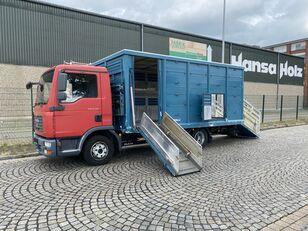 MAN TGL 8.210 BL  Menke , 2 x AHK , TOP,  Tier, Viehtransporter camión para transporte de ganado