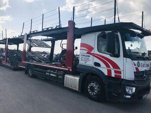 MERCEDES-BENZ Actros 1840 Euro 6 + Lohr CHR camión portacoches + remolque portacoches