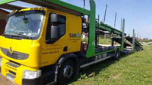 RENAULT Premium 370.18 Euro5 !!! camión portacoches + remolque portacoches