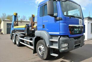 MAN TGS 26.400 6x4 camión portacontenedores