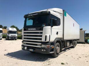 SCANIA R114 380 motrice 3 assi camión tienda