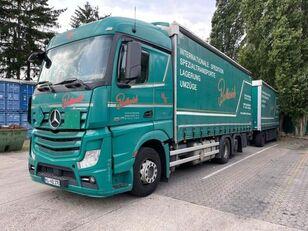 MERCEDES-BENZ 2545 L 6X2 ACTROS / EURO 6 camión toldo