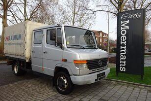 MERCEDES-BENZ 814D Double Cabin camión toldo