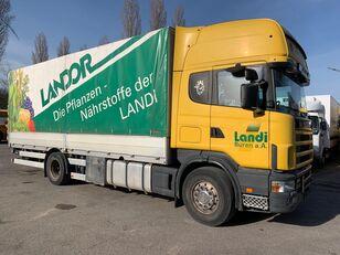 SCANIA R164 camión toldo
