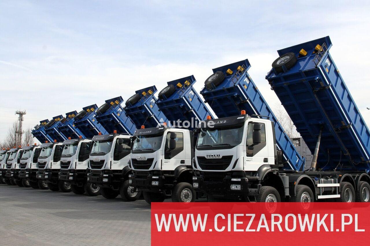 IVECO Trakker , 8x8 , E6 , Retarder , manual, 2018 , 10 units for sale camión volquete