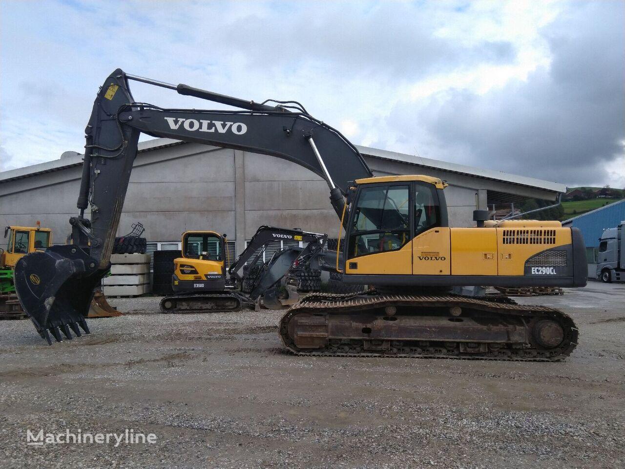 VOLVO EC290CL excavadora de cadenas