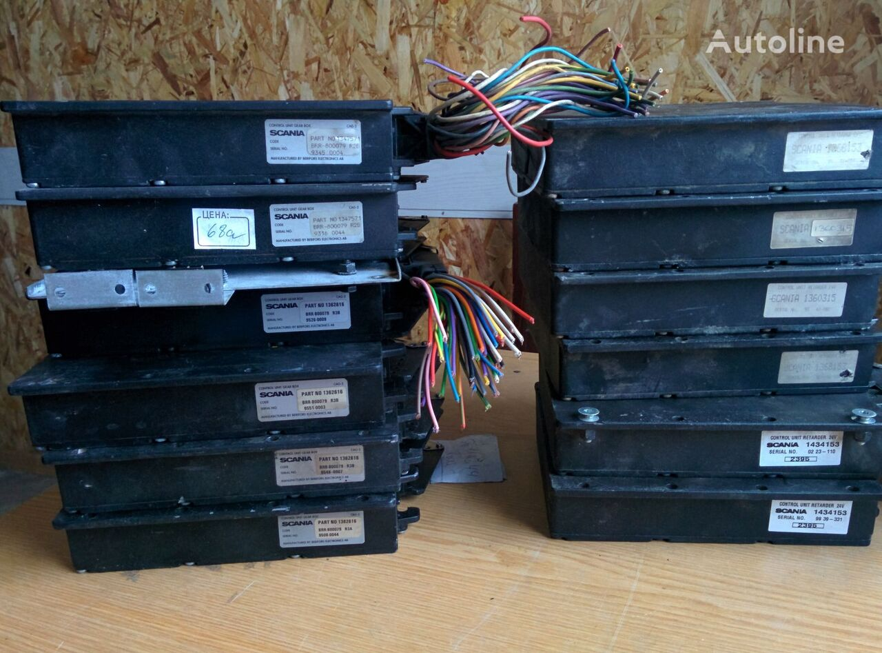 unidad de control SCANIA korobkoy peredach GS-801 1362616 . 1434153. 1368153. 1360315. 138 para autobús SCANIA