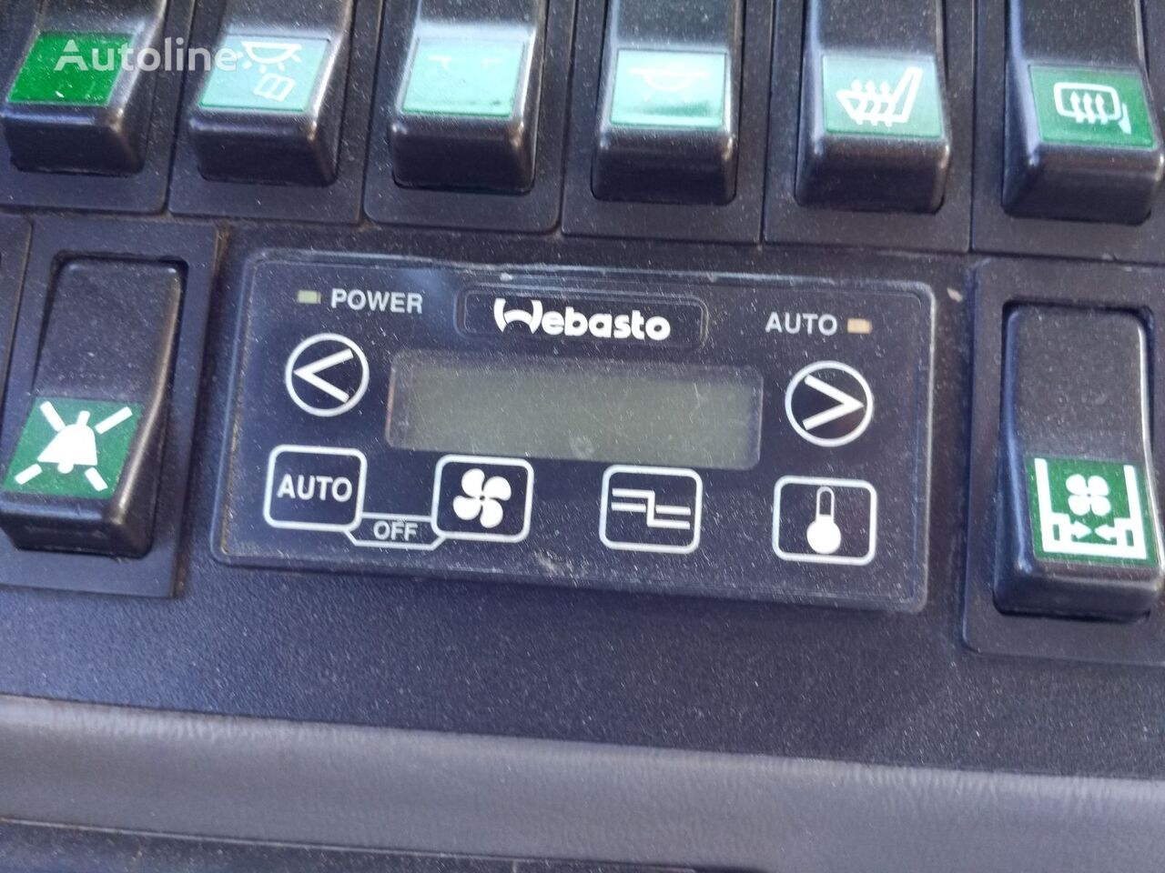 unidad de control Webasto klimat kontrolem para autobús